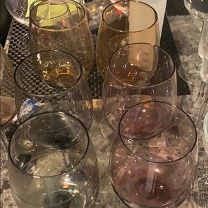 MIKASA WINE GLASS SET OF 7